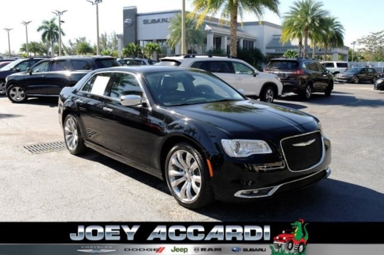 Used 2018 Chrysler 300 Limited Sedan Pompano Beach