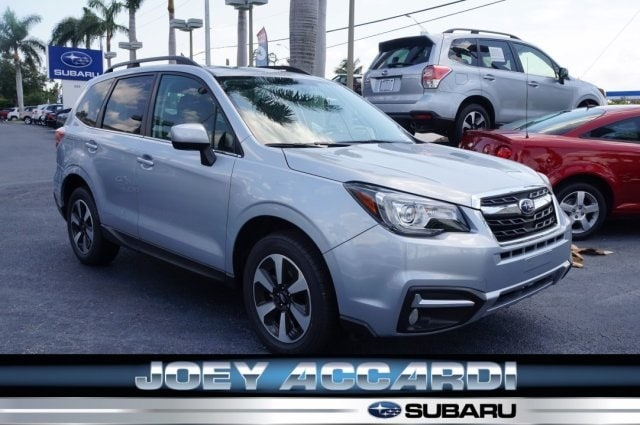 Featured New 2018 Subaru Forester 2.5i Limited with Eyesight + Nav + Starlink SUV in Pompano Beach