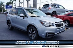 New 2018 Subaru Forester 2.5i Limited with Eyesight + Nav + Starlink SUV JF2SJARC6JH540594 in Pompano Beach