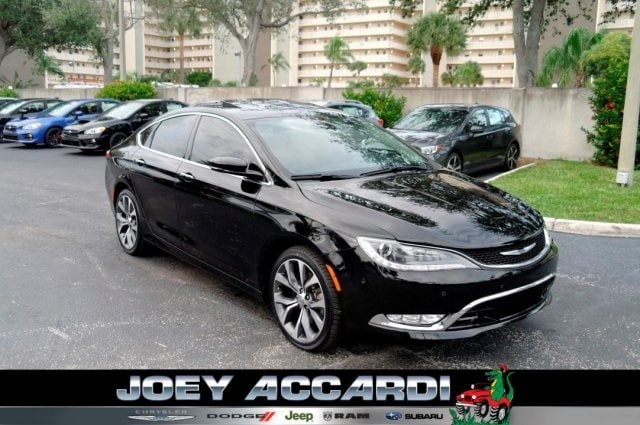 Featured Used 2015 Chrysler 200 C Sedan in Pompano Beach