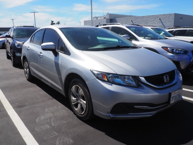 Used 2015 Honda Civic LX Sedan Ontario, CA