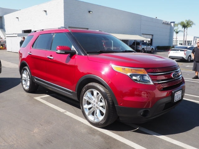 Used 2015 Ford Explorer Limited SUV Ontario, CA