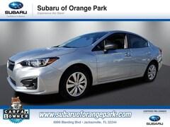 2018 Subaru Impreza Certified 2.0I