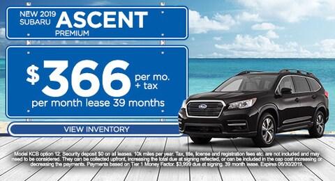 2019 Ascent Premium