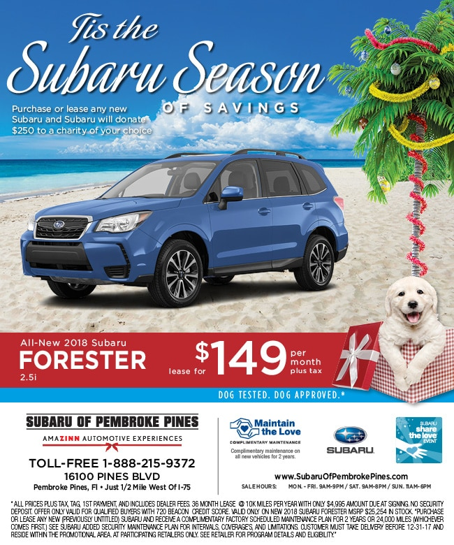 Subaru Lease Deals >> 2018 Subaru Forester Subaru Forester Lease Specials Fort