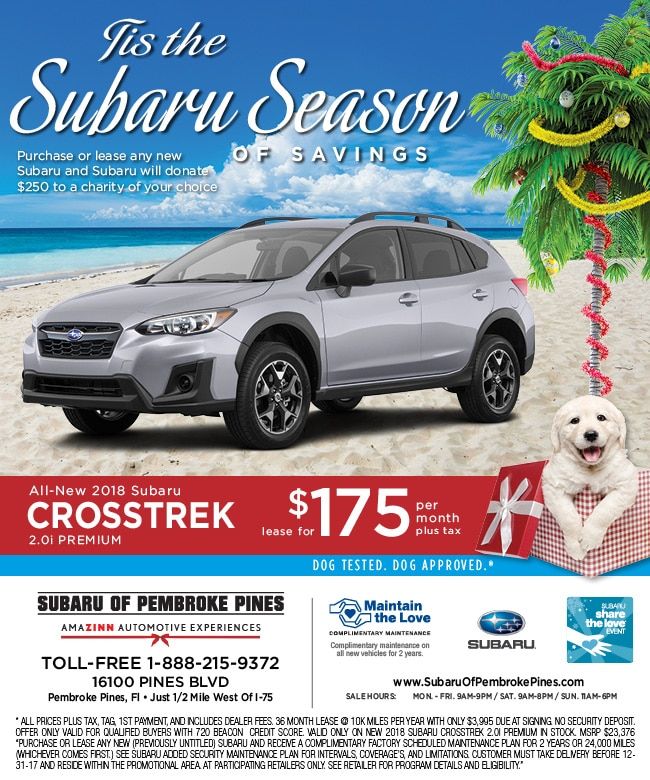 Subaru South Blvd >> 2018 Subaru Crosstrek Lease Special | Serving South ...