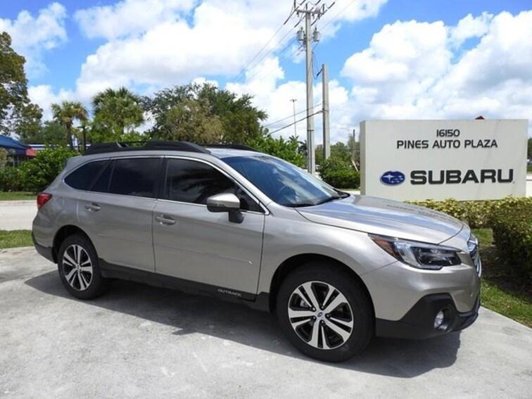 Subaru Of Pembroke Pines >> New 2019 Subaru Outback For Sale Lease In Pembroke Pines Fl 9108400