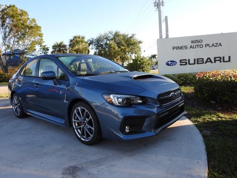 New 2018 Subaru WRX Limited 50th Anniversary Edition Sedan For Sale/Lease Pembroke Pines