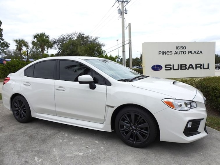 New 2019 Subaru WRX Sedan For Sale/Lease Pembroke Pines