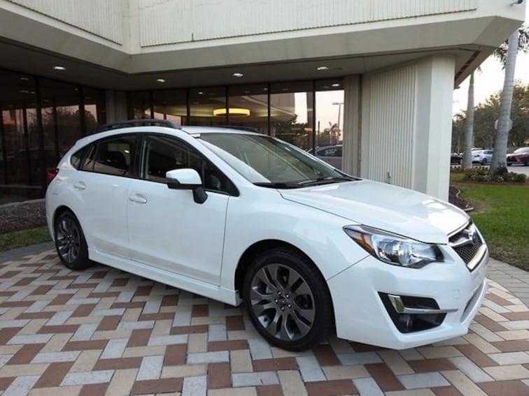 Used 2016 Subaru Impreza 2.0i Sport Premium Hatchback in Pembroke Pines