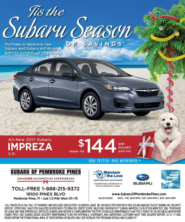 ALL NEW 2017 Subaru Impreza | Great Impreza deals Miami to