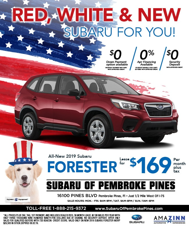 Lease Specials Near Me >> New Subaru Specials New Subaru For Sale Near Me Pembroke Pines