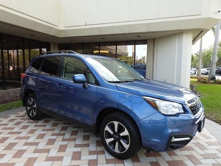 Used 2017 Subaru Forester 2.5i Premium SUV in Pembroke Pines
