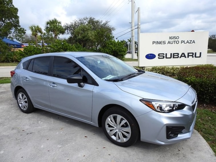 New 2019 Subaru Impreza 2.0i 5-door For Sale/Lease Pembroke Pines