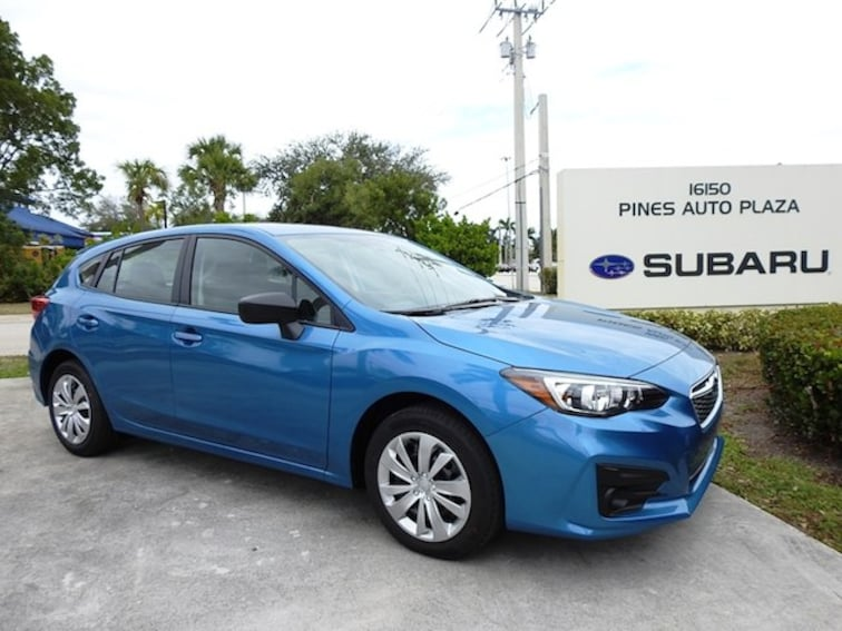 New 2019 Subaru Impreza 2.0i 5-door For Sale/Lease Pembroke Pines