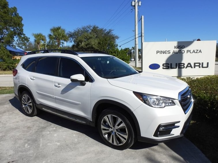 New 2019 Subaru Ascent Limited 8-Passenger SUV For Sale/Lease Pembroke Pines