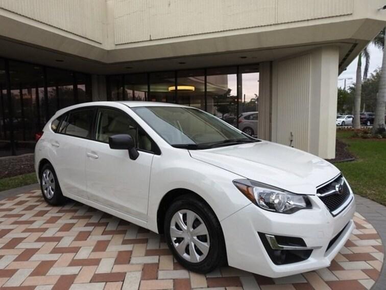 Subaru Of Pembroke Pines >> Used 2016 Subaru Impreza For Sale In Pembroke Pines Fl
