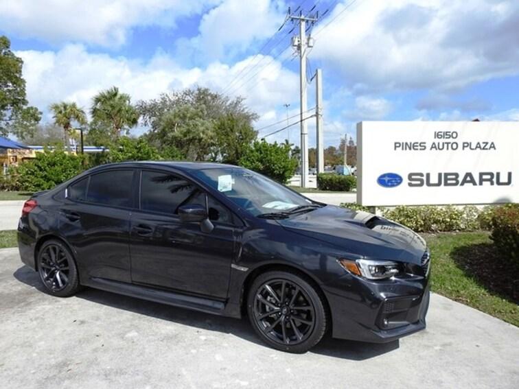 New 2019 Subaru WRX Limited Sedan For Sale/Lease Pembroke Pines