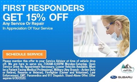 June First Responders Special