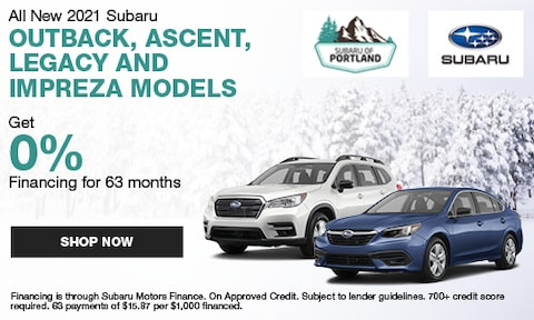January 2021 Low Financing Specials
