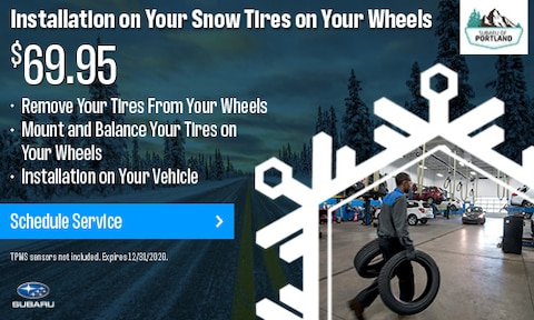 Installation of Your Snow Tires