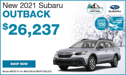 November 2021 Outback Special