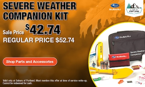 Severe Weather Kit Special