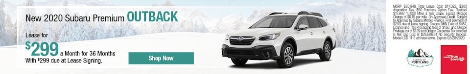 February 2020 Outback Lease Special