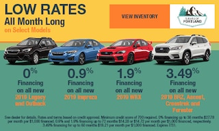 July 2019 Low Rates Specials