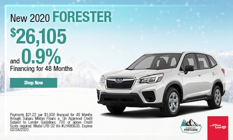 February 2020 Forester Special