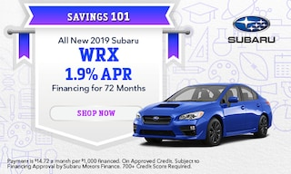 September 2019 WRX Finance Special