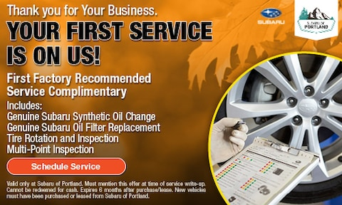 Your First Service is on us!
