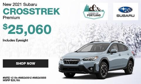 January 2021 Crosstrek Premium Special