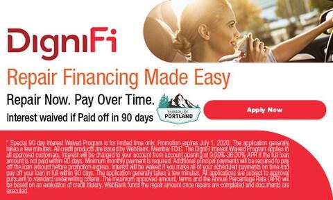 DigniFi Repair Financing