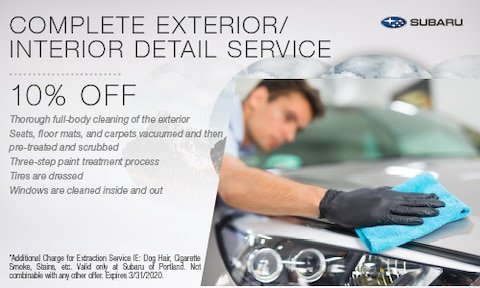 Complete Exterior/Interior Detail Service
