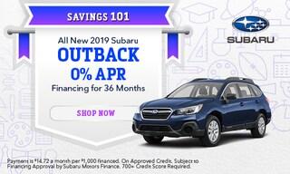 September 2019 Outback Finance Special