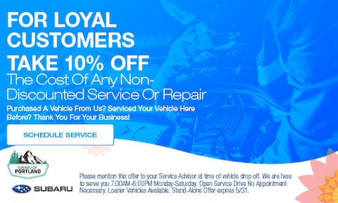 10% off for Loyal Customers