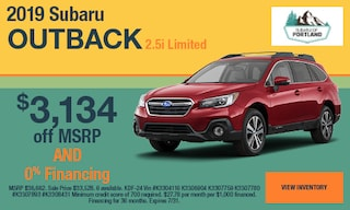 July 2019 Outback Limited Special