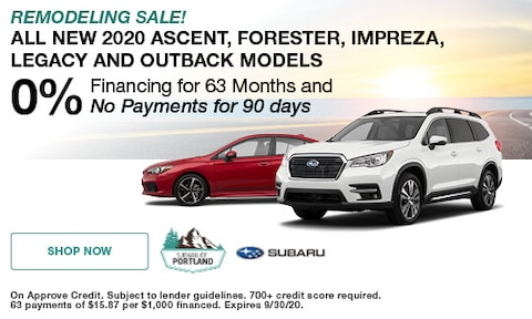 September 2020 Low Financing Special
