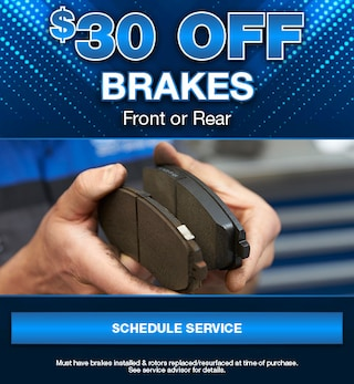 $30 Off Brakes