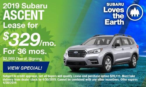 2019 Subaru Accent