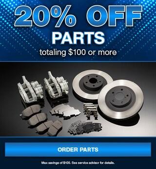 20% Off Parts