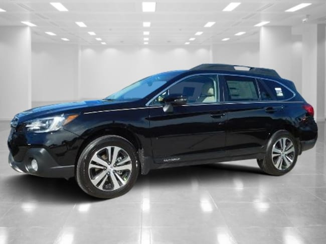 New 2018 Subaru Outback 2.5i Limited with EyeSight, Navigation, High Beam Assist, Reverse Auto Braking, LED Headlights, Steering Responsive Headlights, and Starlink SUV 4S4BSANC2J3214981 Port Richey