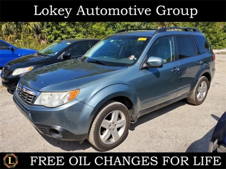 Used 2009 Subaru Forester 2.5X SUV for sale in Port Richey, FL