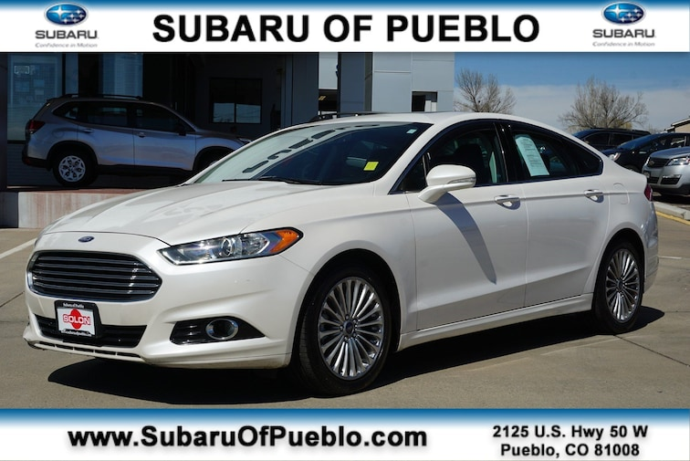 Used 2013 Ford Fusion Titanium Sedan in Pueblo, CO