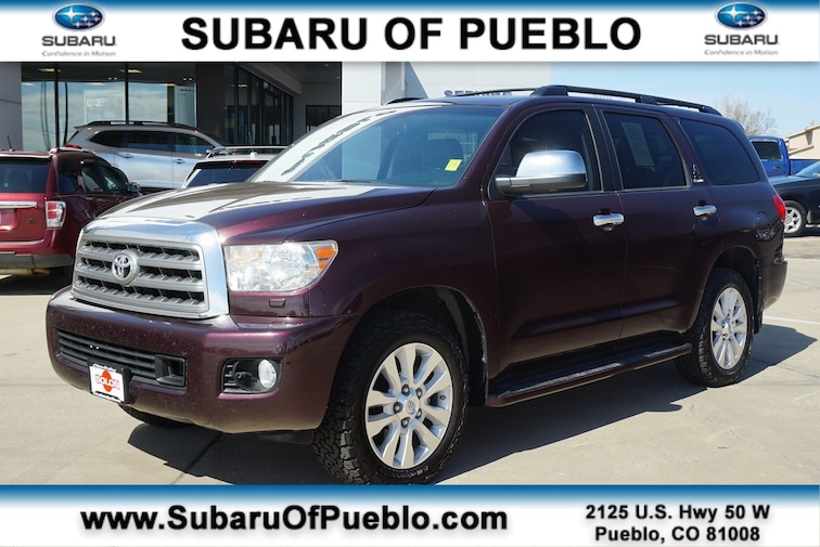 Used 2014 Toyota Sequoia Platinum 4WD 5.7L FFV Platinum in Pueblo, CO