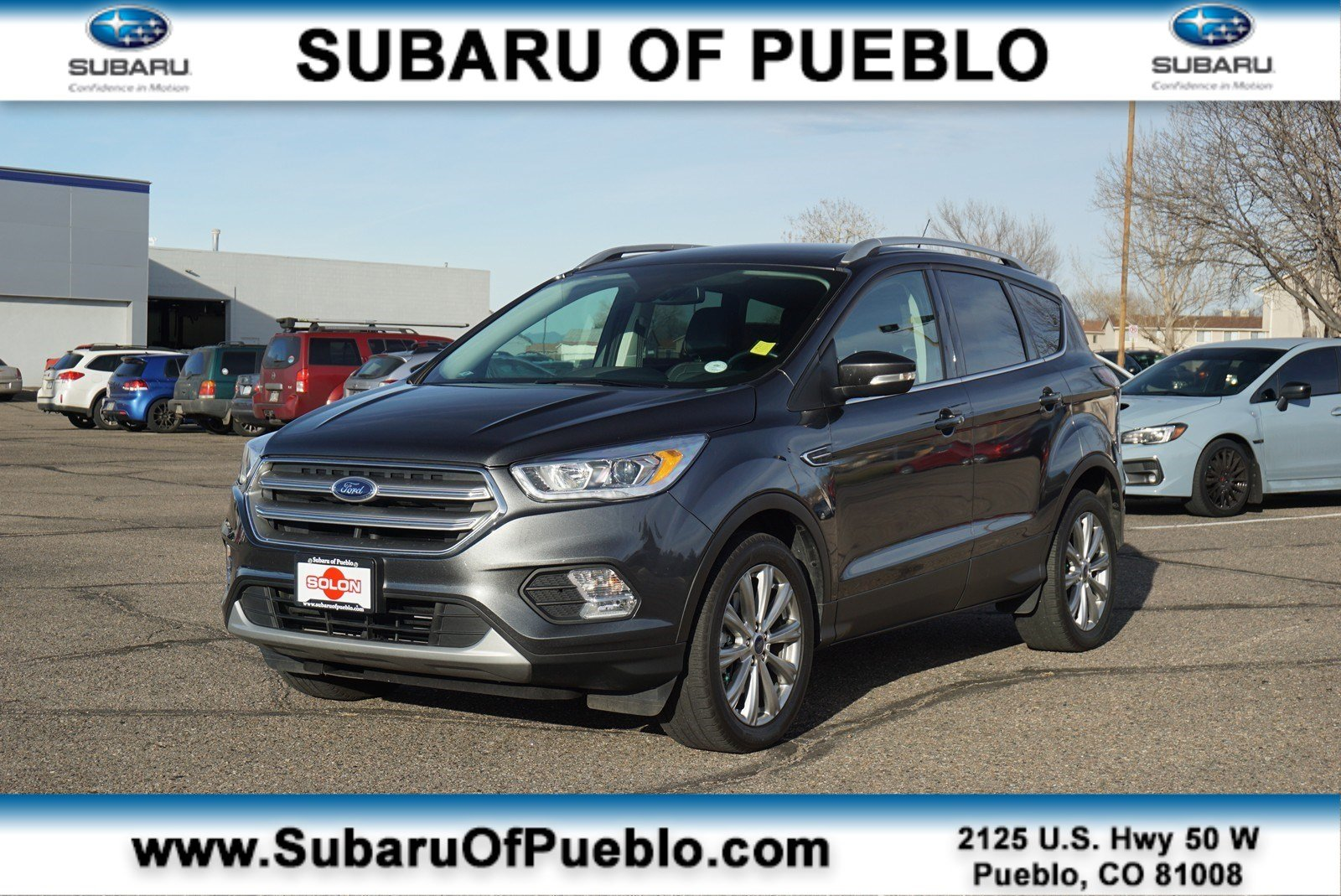 Used 2017 Ford Escape Titanium For Sale In Pueblo Co Area