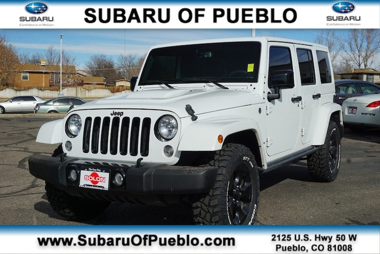 Used 2015 Jeep Wrangler Unlimited Altitude 4WD  Altitude in Pueblo, CO