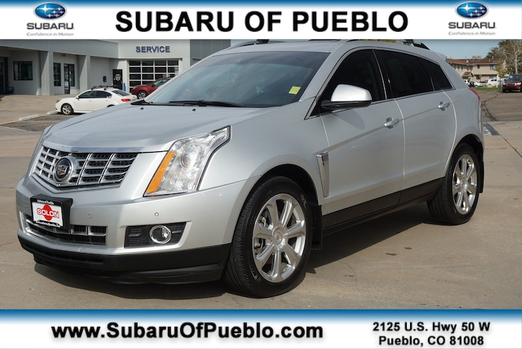 Used 2015 Cadillac Srx Premium Collection For Sale In Pueblo Co