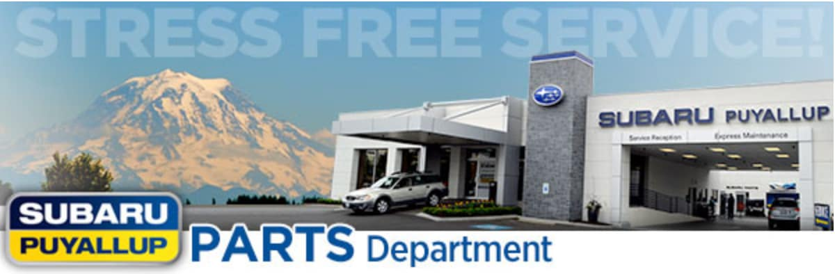 Genuine Subaru Parts and Accessories Special Discount Offers | Puyallup, WA